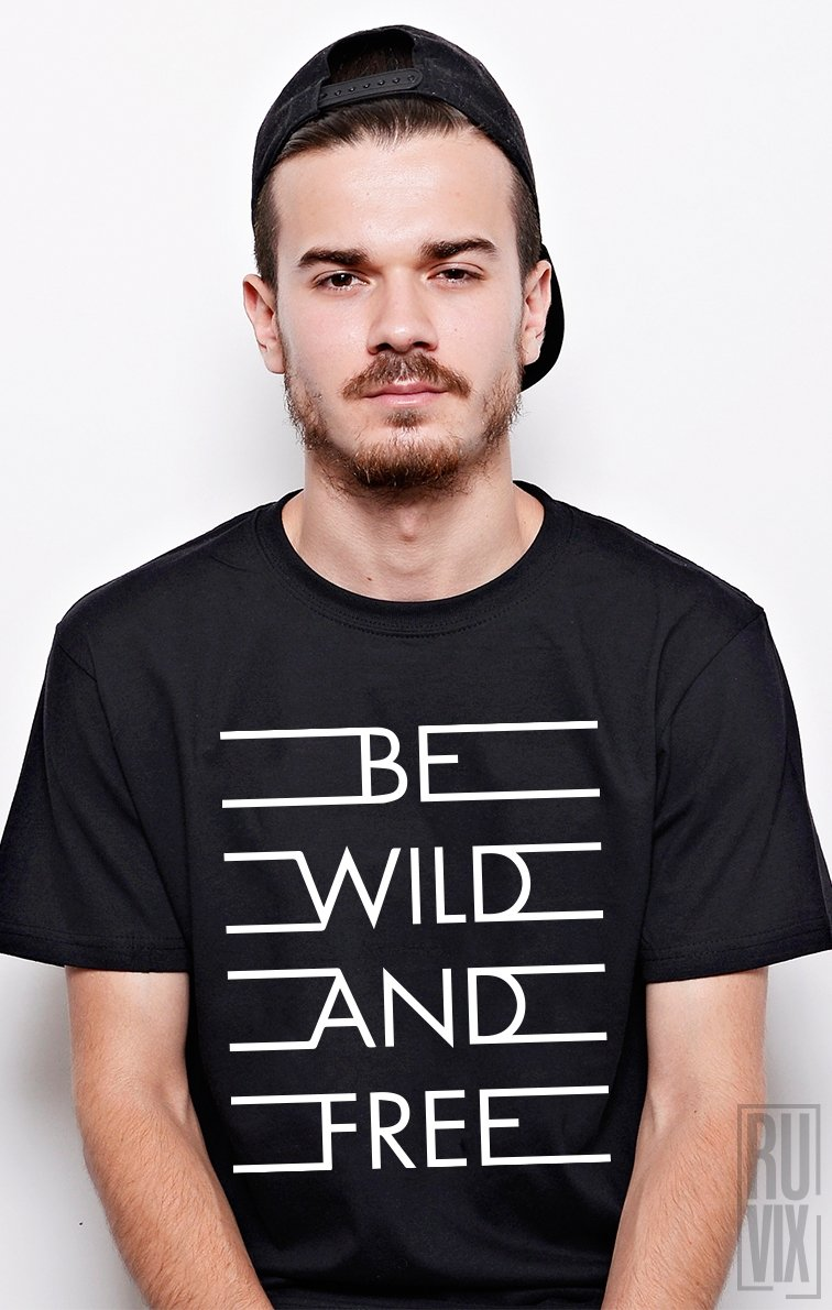 PROMOȚIE Tricou Wild and Free