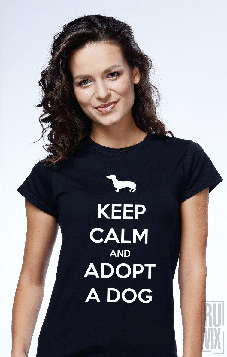 PROMOȚIE Tricou Adopt a Dog