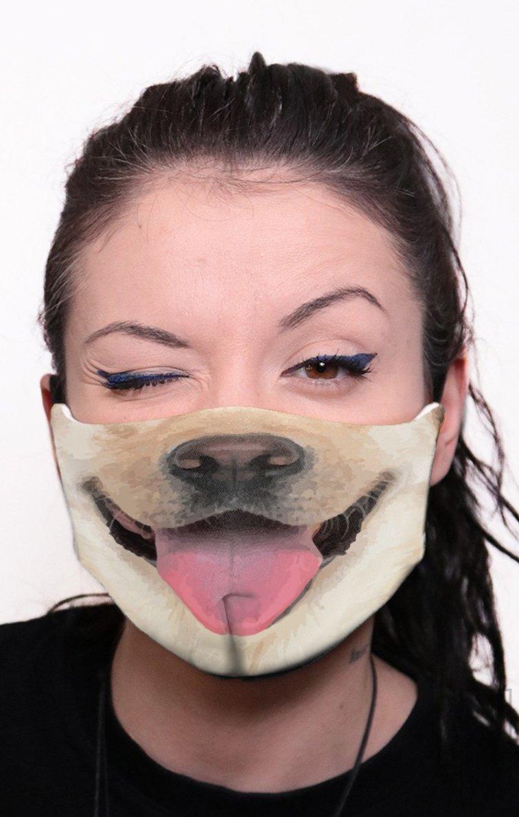 Mască Full Print Retriever