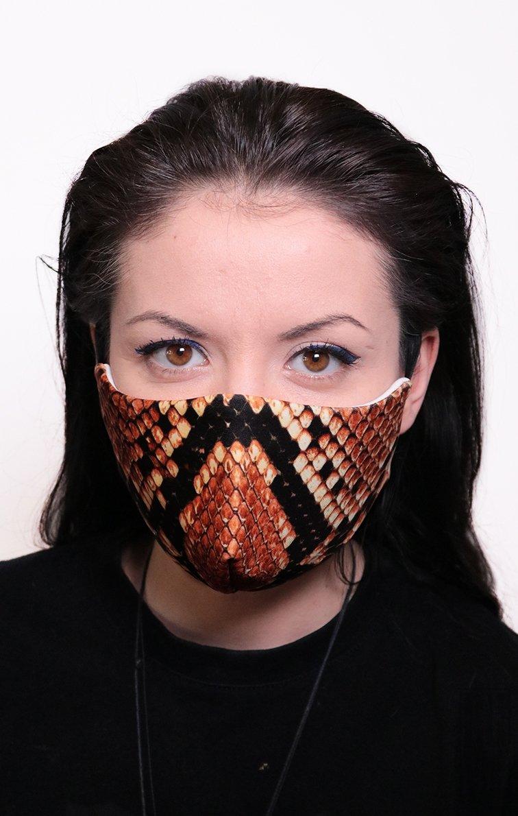Mască Full Print Snake