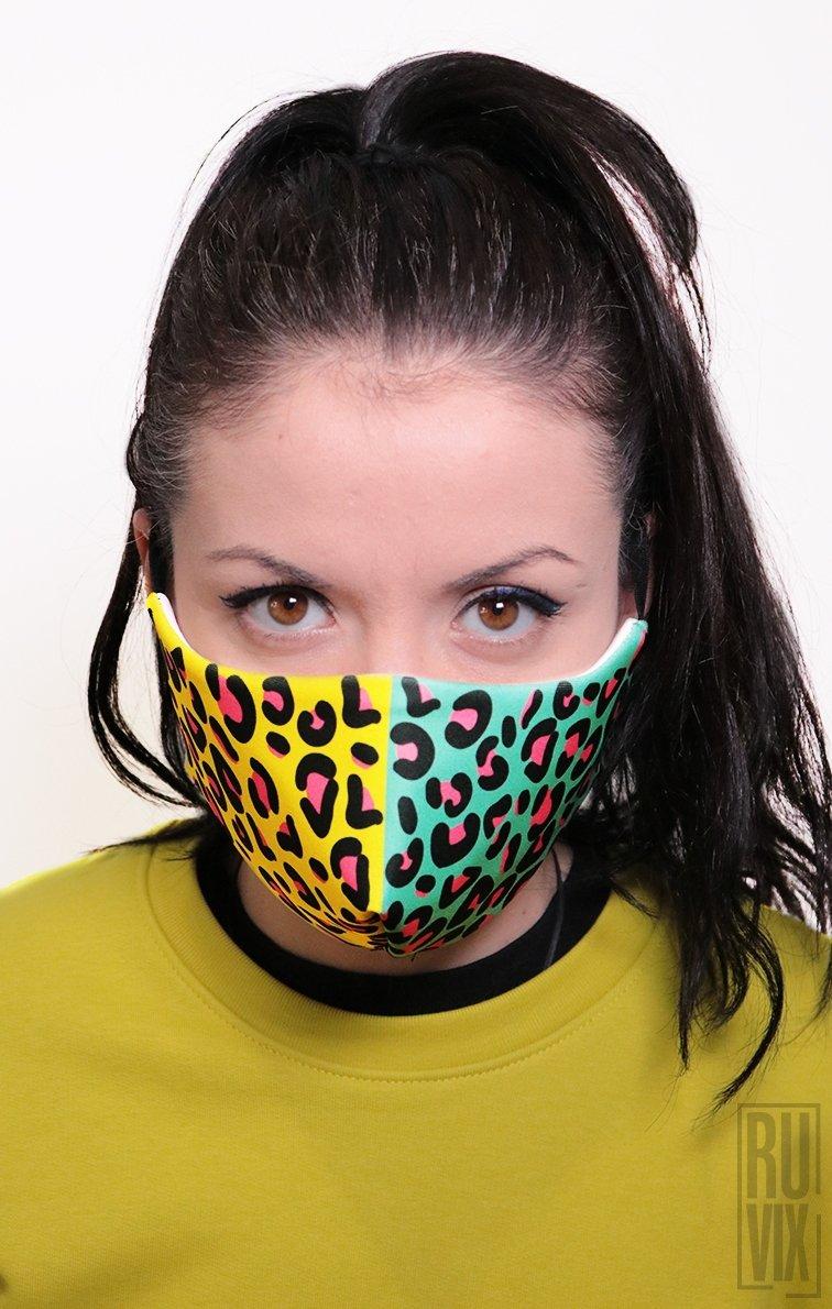 Mască Full Print Urban Wild