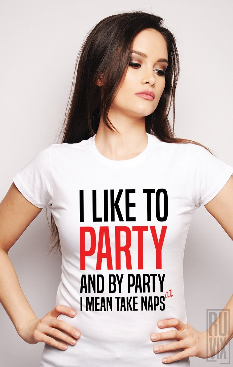 PROMOȚIE Tricou I Like To Party