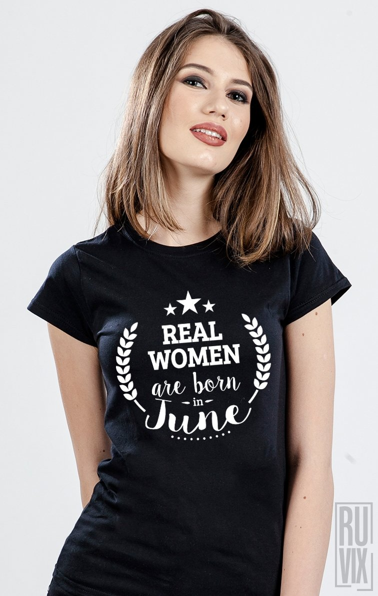 Tricou Real Women June