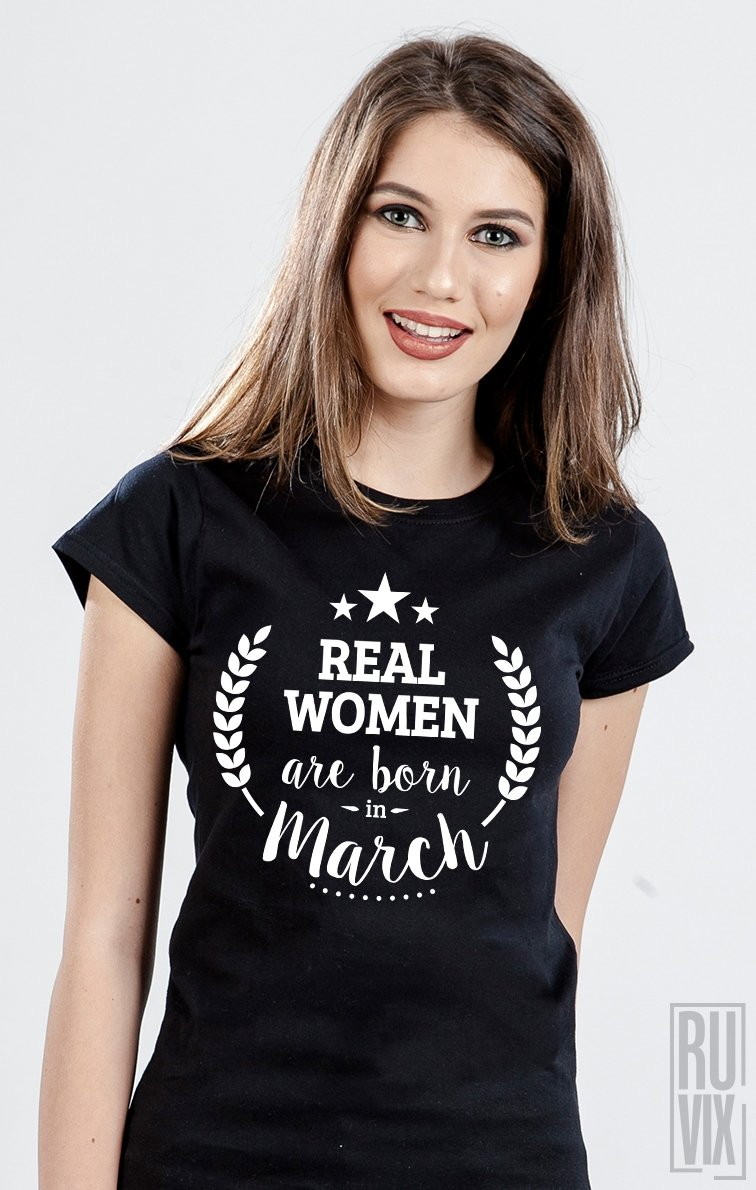 Tricou Real Women March