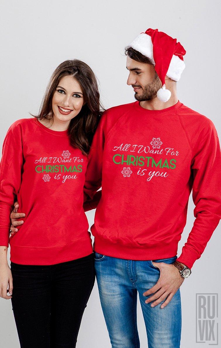 Set Sweatshirt All I Want for Christmas