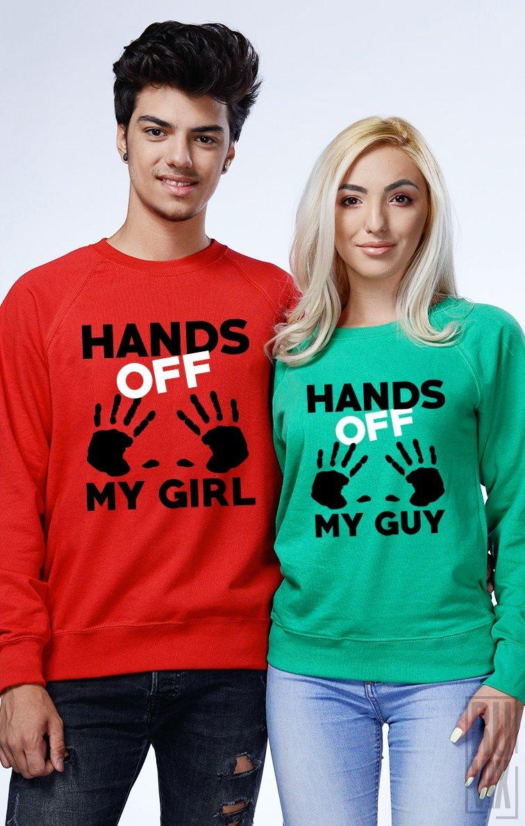 Set Sweatshirt Hands Off