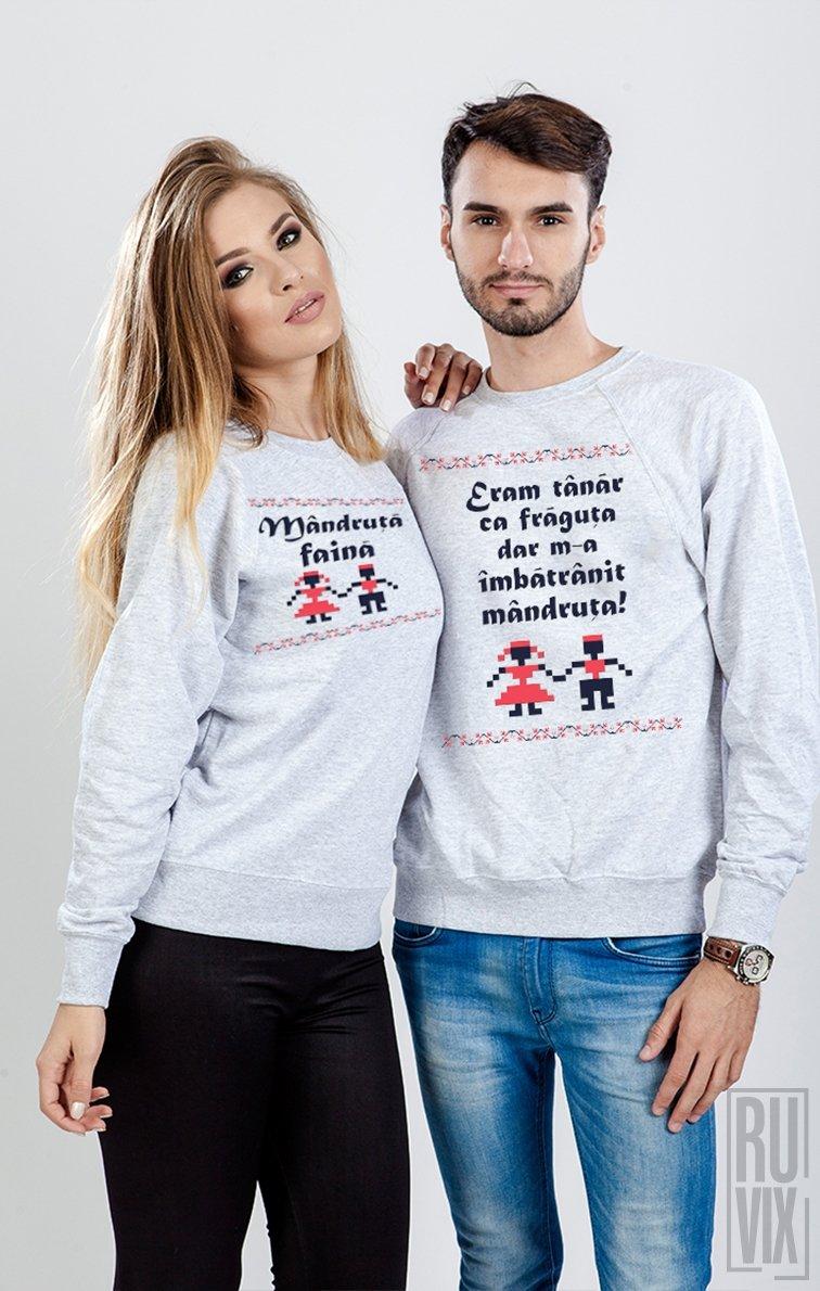 Set Sweatshirt Mândru și Mândruță