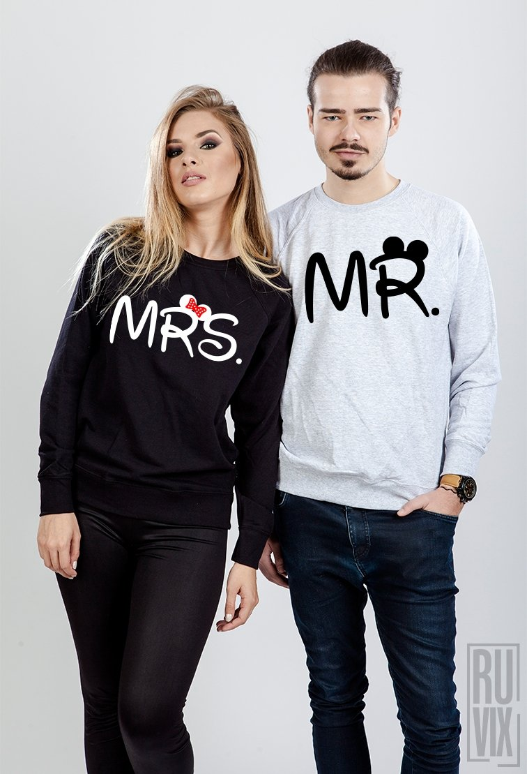 Set Sweatshirt MR. si MRS