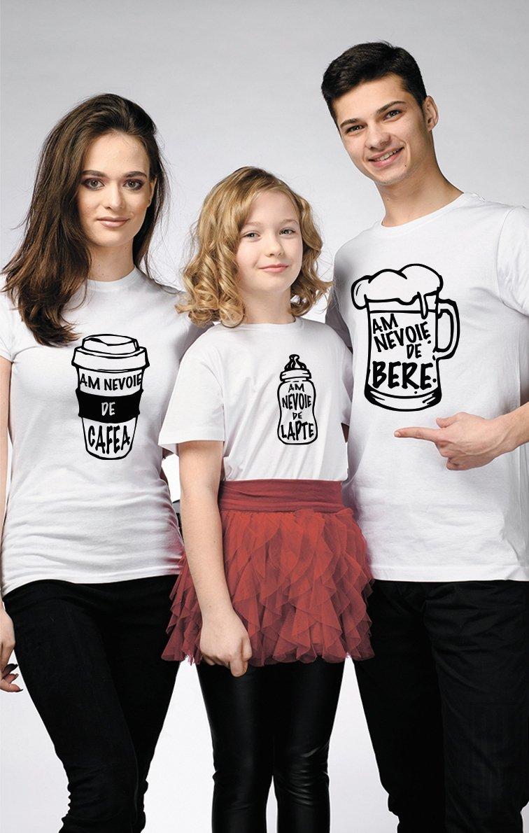 SET Tricouri Familie AM NEVOIE