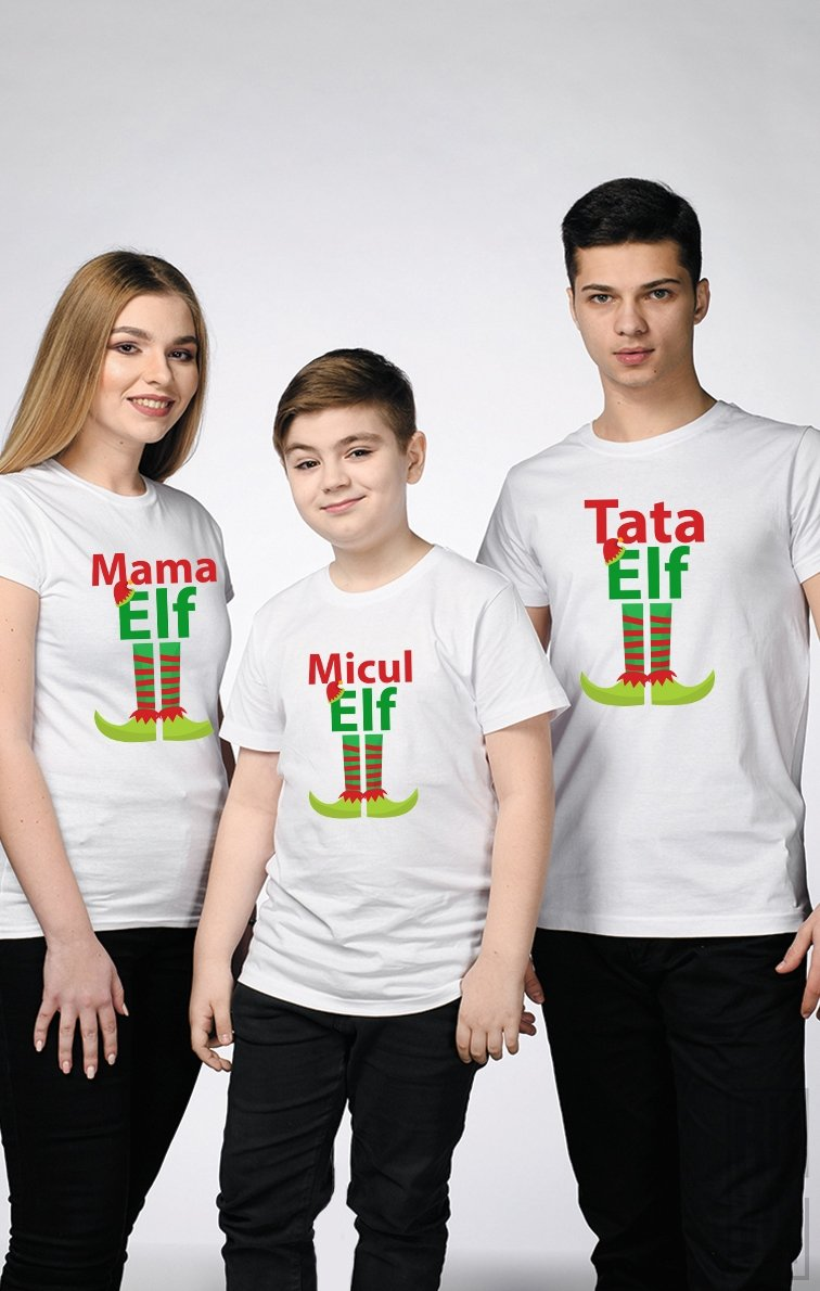 SET Tricouri Familie ELFI