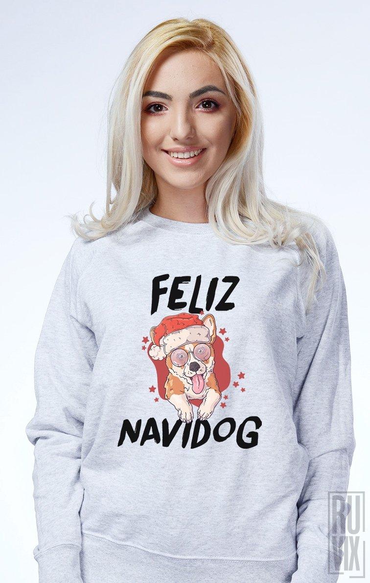 Sweatshirt Feliz Navidog