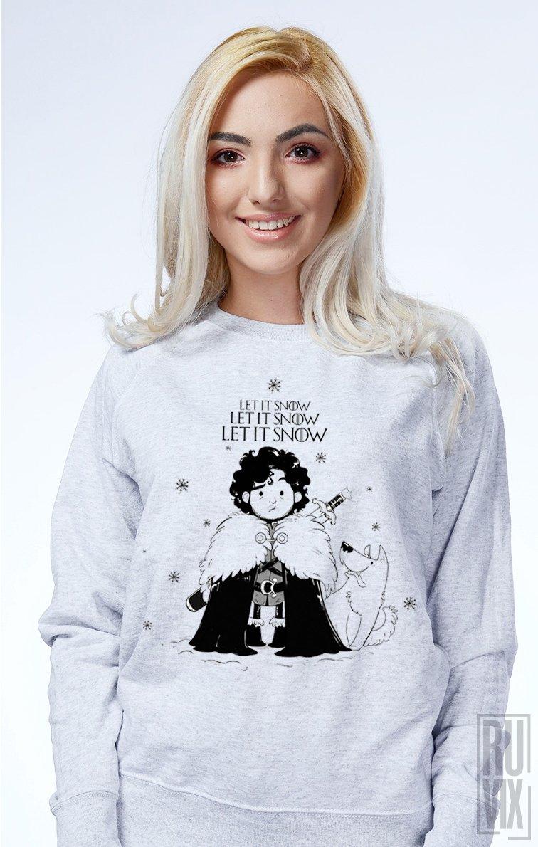 Sweatshirt Let it Snow