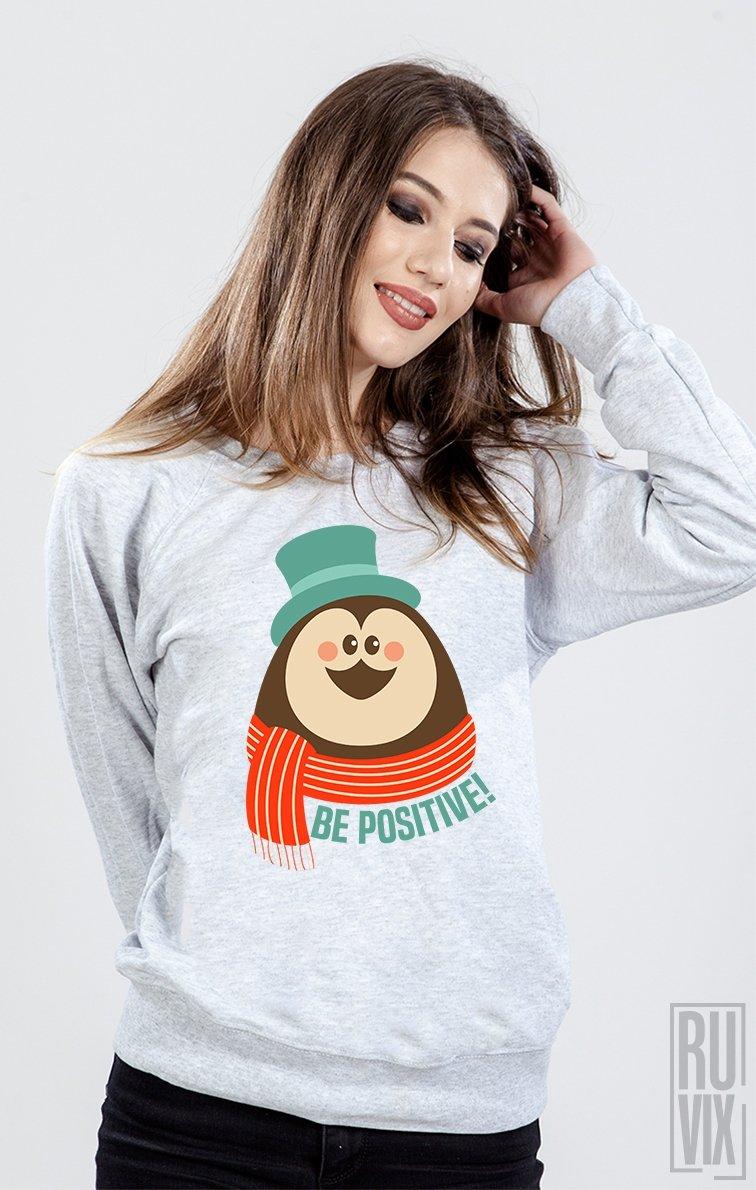 Sweatshirt Positive Penguin