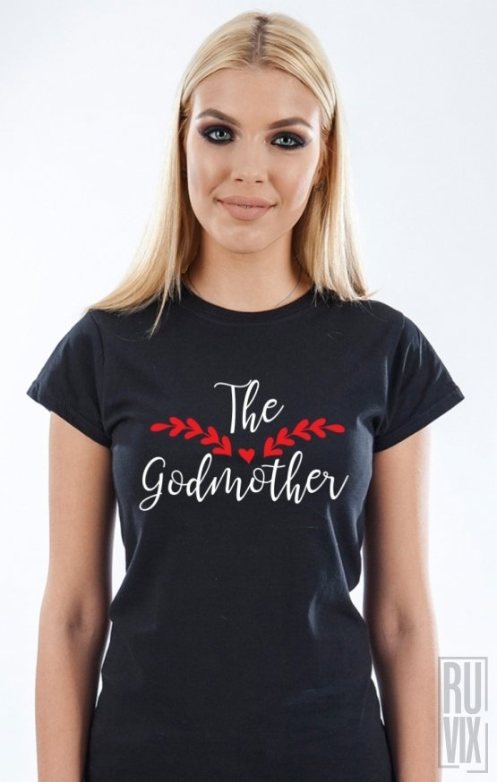 PROMOȚIE Tricou The Godmother (cu frunze)