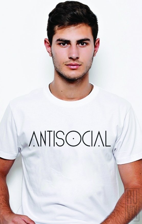 PROMOȚIE Tricou Antisocial