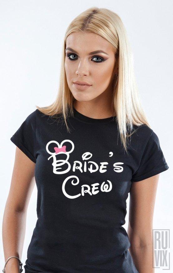 PROMOȚIE Tricou Disney Bride's Crew