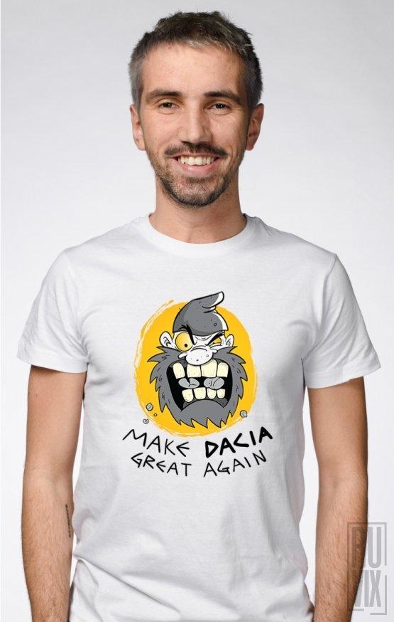PROMOȚIE Tricou Make Dacia Great Again