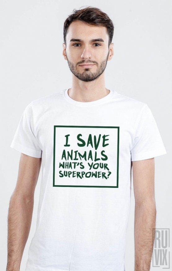 PROMOȚIE Tricou I Save Animals