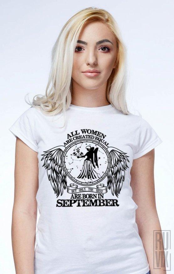 PROMOȚIE Tricou Fecioară - Zodiac Septembrie Damă