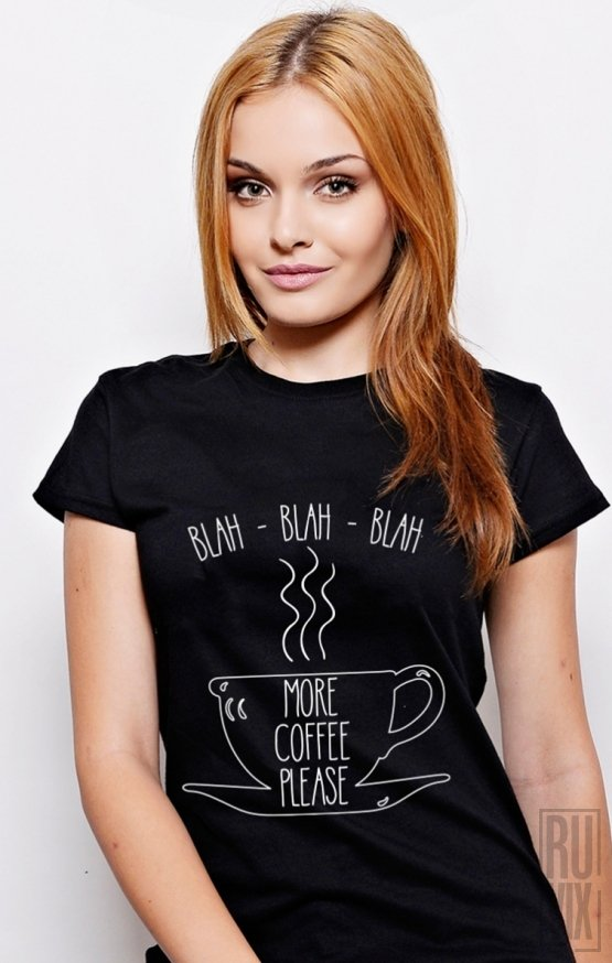 PROMOȚIE Tricou More Coffee