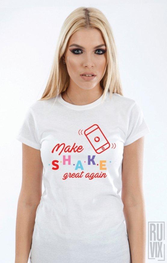 PROMOȚIE Tricou Make SHAKE great again