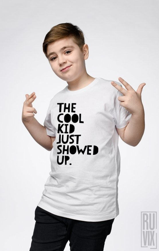 PROMOȚIE Tricou de Copii THE COOL KID