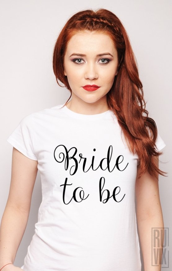 PROMOȚIE Tricou Bride to Be