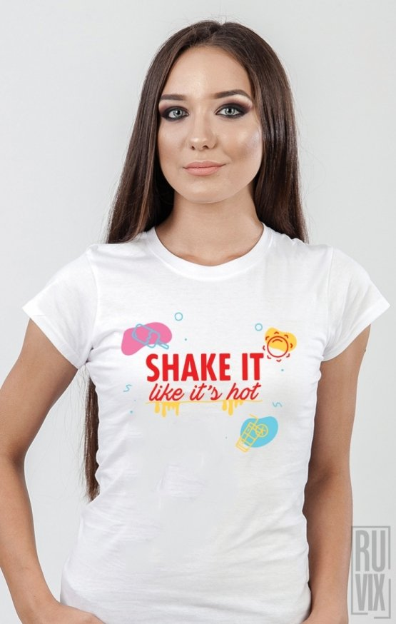 PROMOȚIE Tricou SHAKE it like it's hot