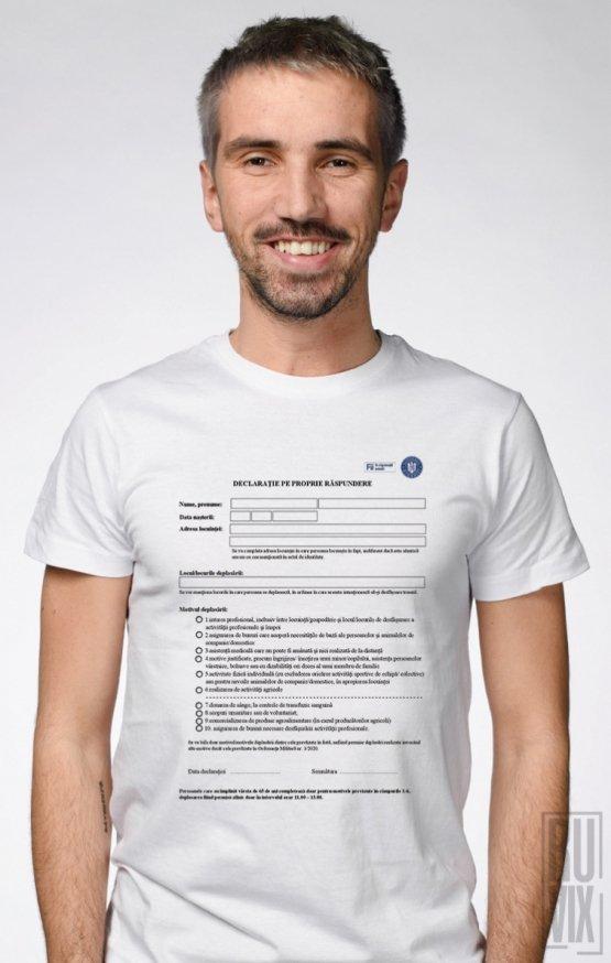PROMOȚIE Tricou Declarație
