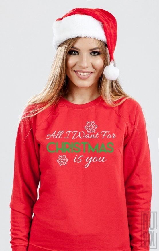 PROMOȚIE Sweatshirt All I Want For Christmas