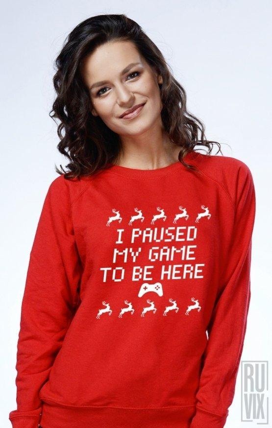 PROMOȚIE Sweatshirt Christmas Gamer