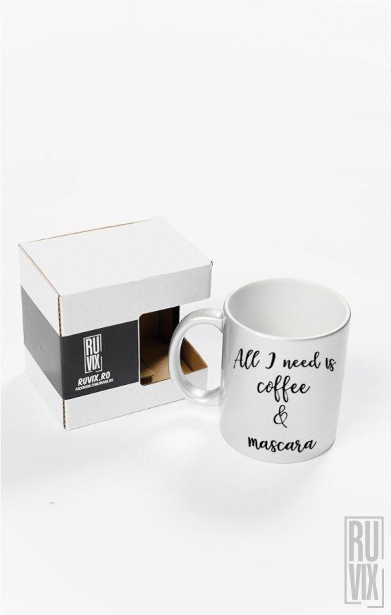 Cană Coffee & Mascara