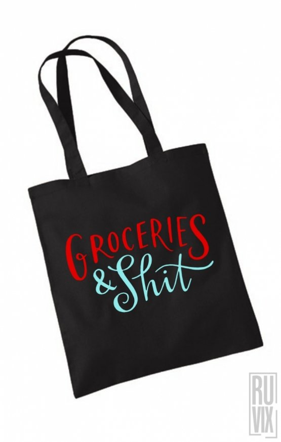Geantă Groceries & Shit