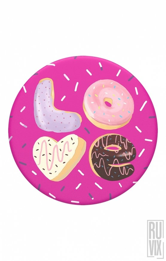 Love Donut Popsocket Original