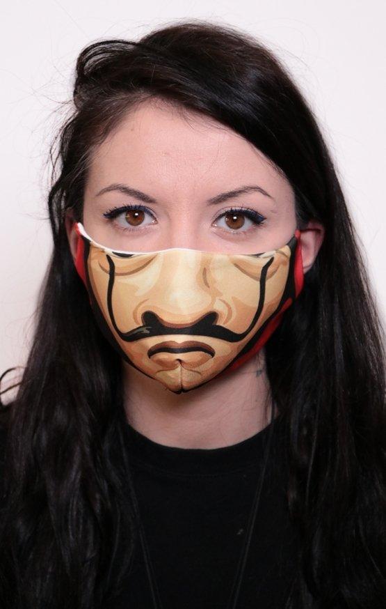 Mască Full Print Casa de Papel