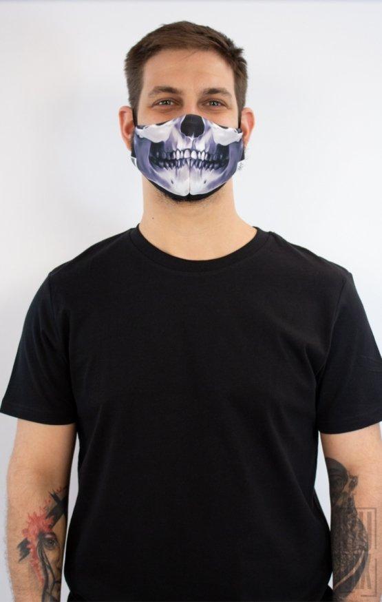 Mască Full Print Craniu