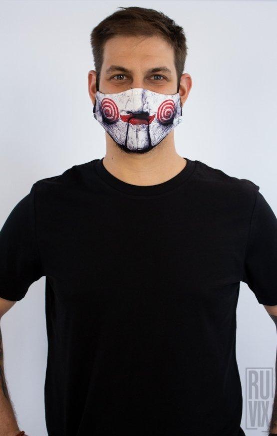Mască Full Print Saw