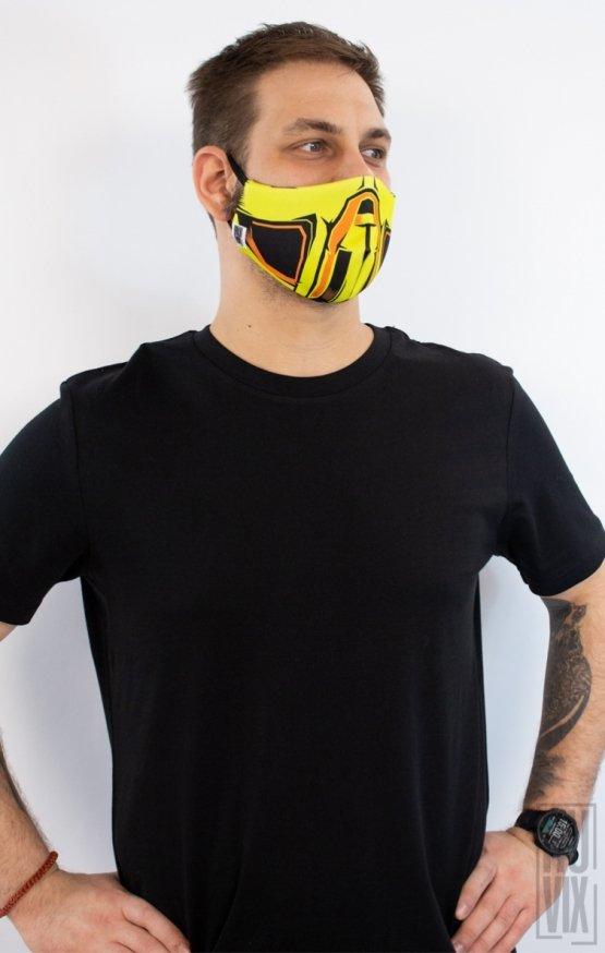 Mască Full Print Scorpion