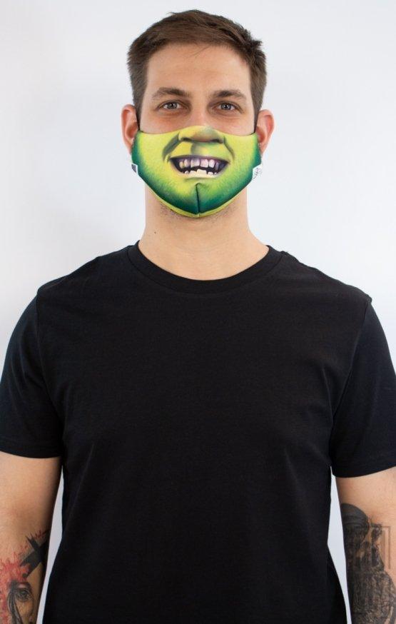 Mască Full Print Shrek
