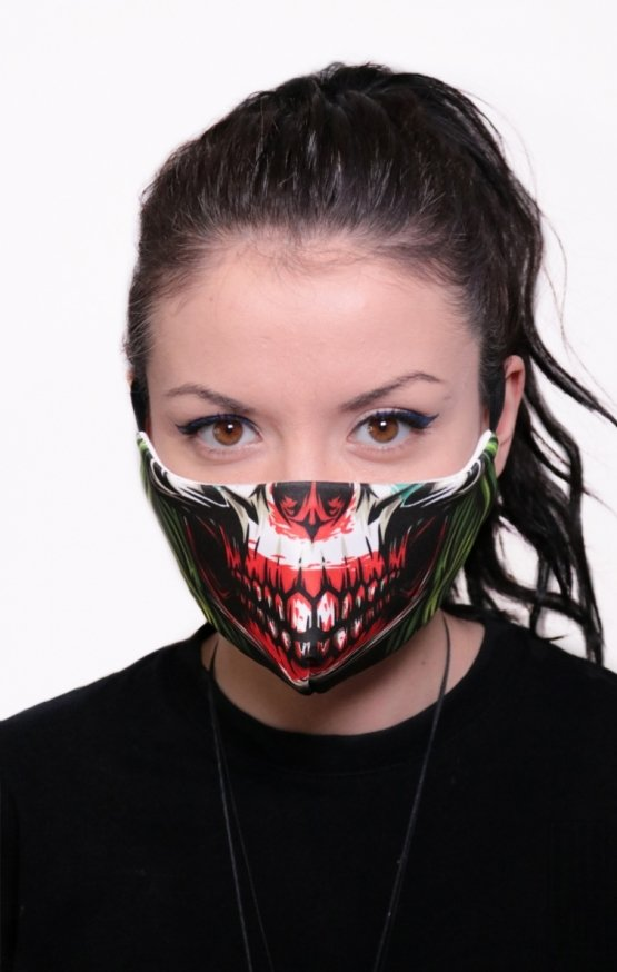 Mască Full Print Skull