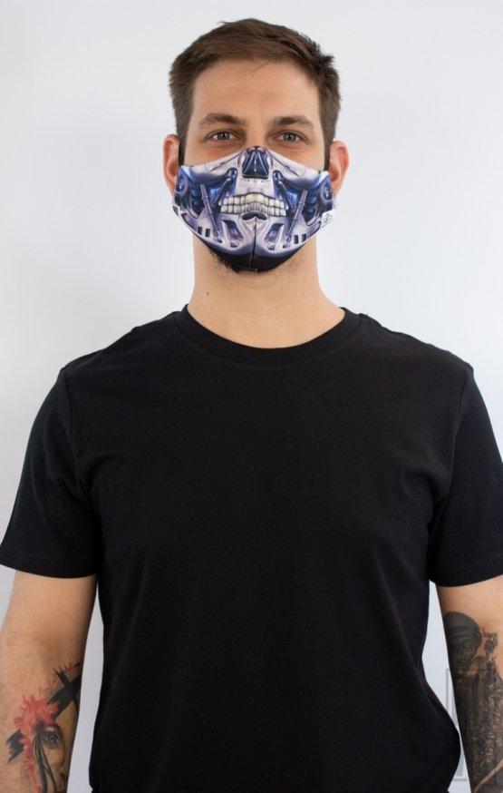 Mască Full Print Terminator