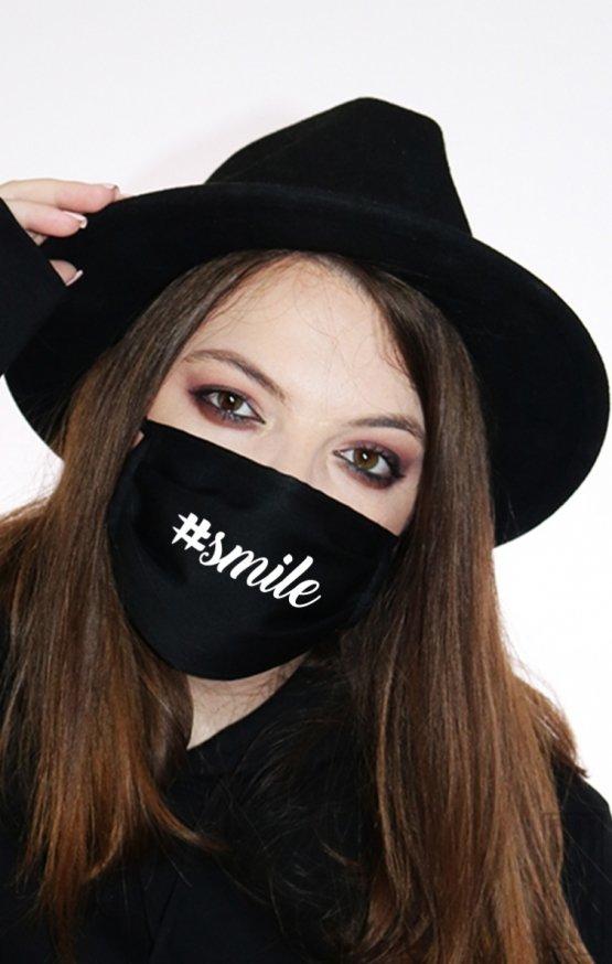 Mască Hashtag Smile