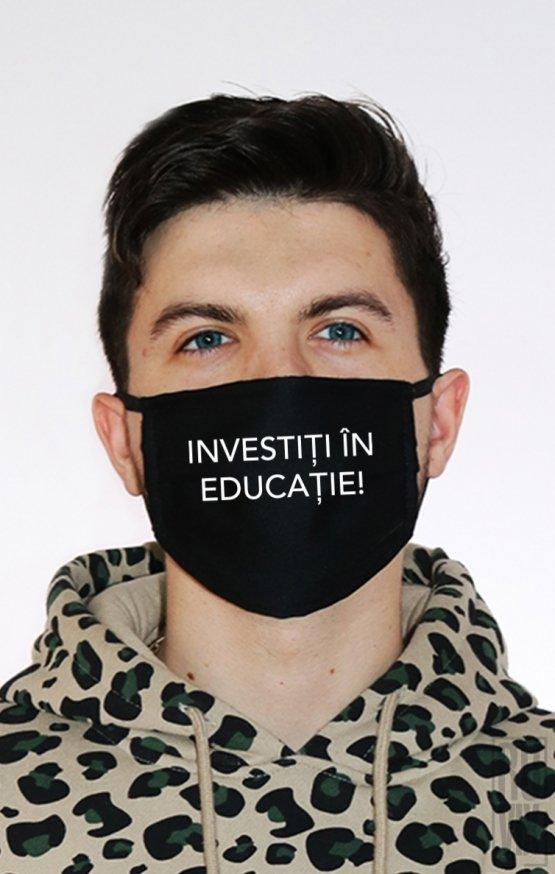 Mască Investiți în Educatie