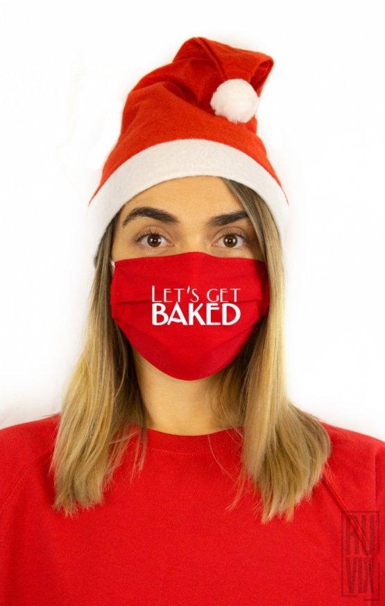 Mască Let's Get BAKED