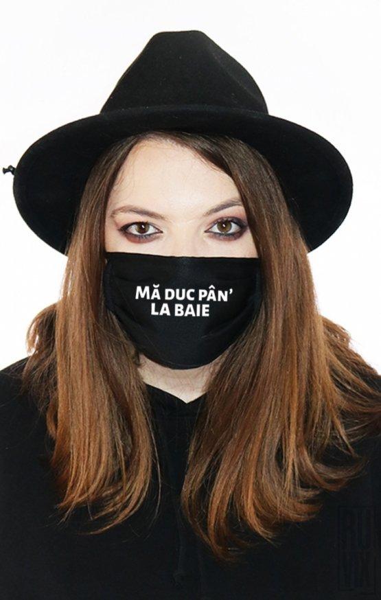 Mască Mă Duc La Baie