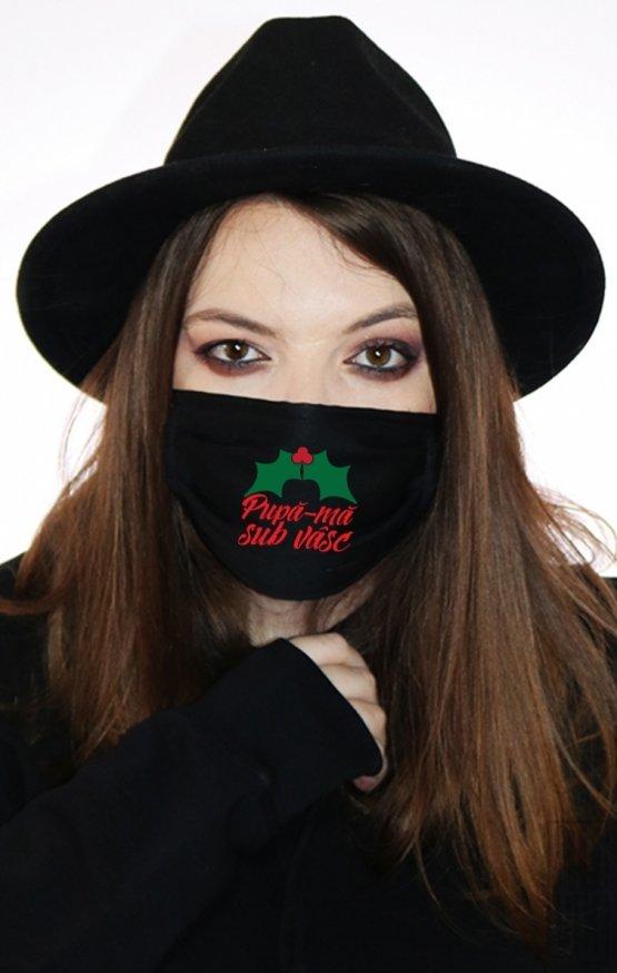 Mască Pupă-mă Sub Vâsc