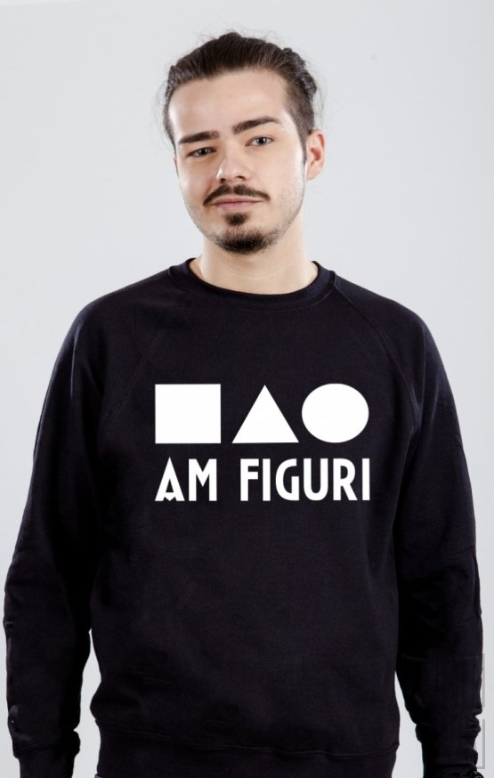 PROMOȚIE Sweatshirt Am Figuri