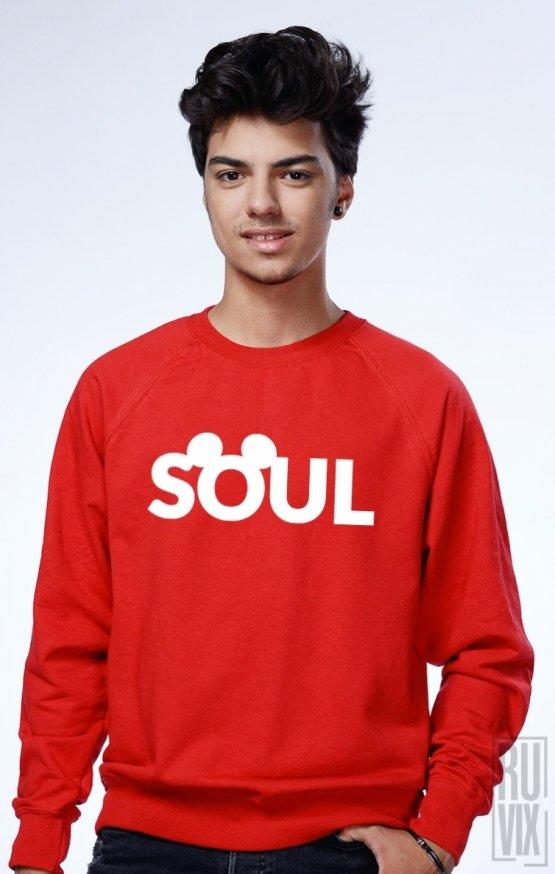 PROMOȚIE Sweatshirt Roșu Soul (Mate)