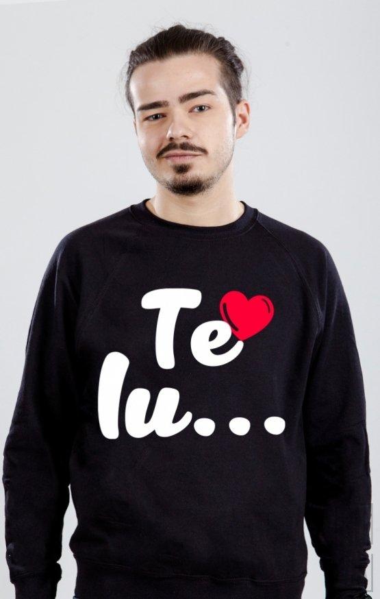 PROMOȚIE Sweatshirt Te Iubesc MEN