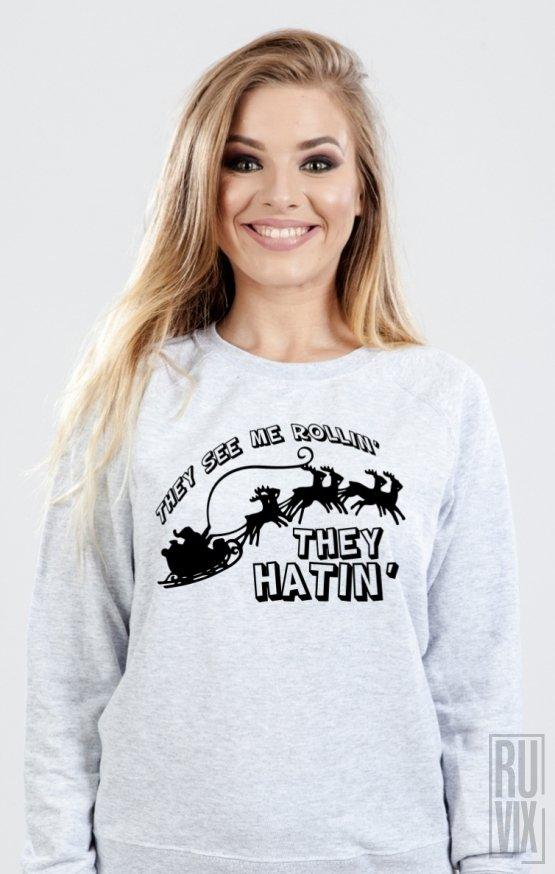 PROMOȚIE Sweatshirt They See Me Rollin'